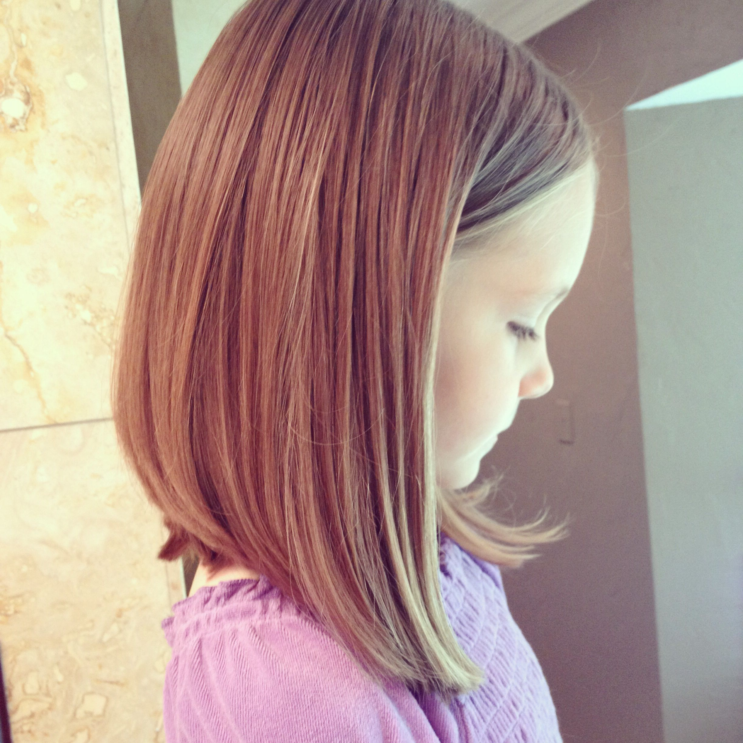 9 Best And Cute Bob Haircuts For Kids | Kids Haircuts | Pinterest Inside Young Girl Short Hairstyles (View 5 of 25)