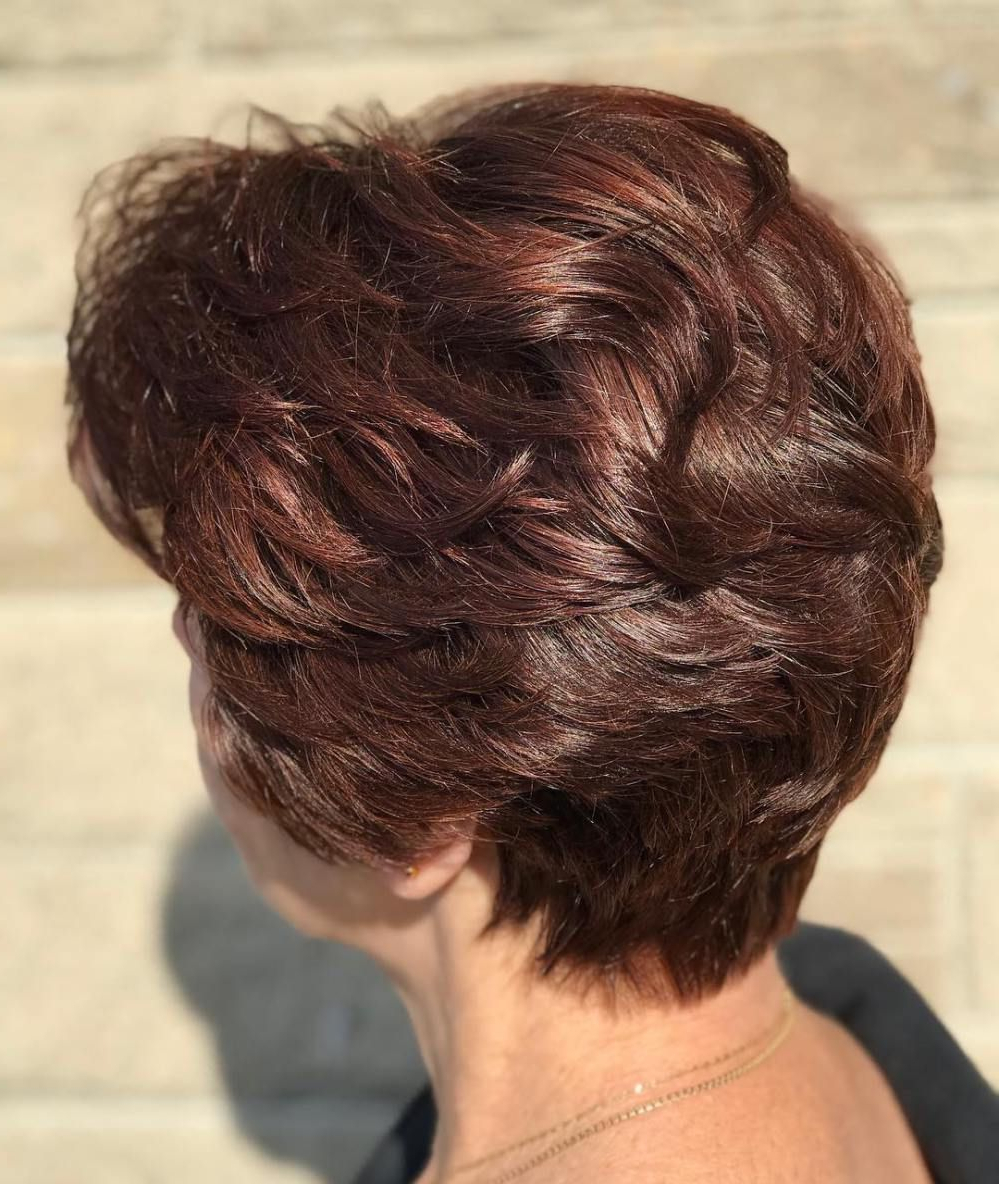 90 Classy And Simple Short Hairstyles For Women Over 50   Auburn For Auburn Short Hairstyles (View 13 of 25)