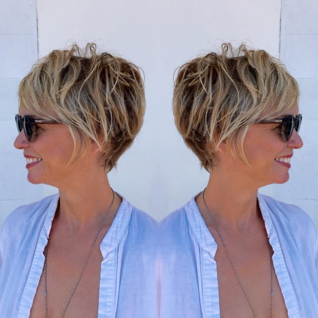 90 Classy And Simple Short Hairstyles For Women Over 50 In 2018 Throughout Short Cuts For Over (View 10 of 25)
