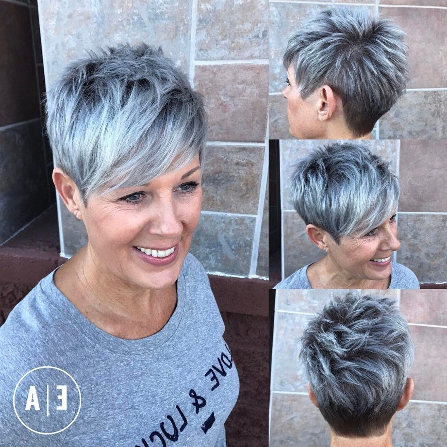 90 Classy And Simple Short Hairstyles For Women Over 50   New Looks Throughout Short Cuts For Over (View 21 of 25)