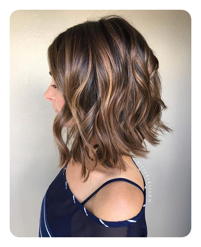 92 Layered Inverted Bob Hairstyles That You Should Try – Style Easily In Inverted Brunette Bob Hairstyles With Feathered Highlights (View 4 of 25)