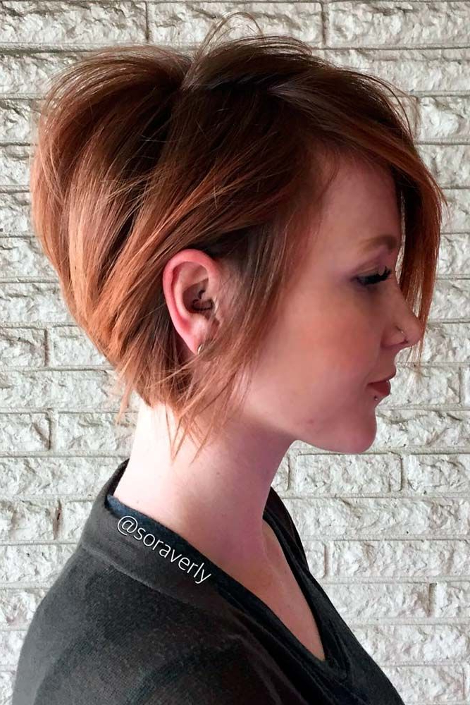 930 Best Hairstyles Images On Pinterest | Short Hair, Bob Cuts And In Short Sassy Bob Haircuts (View 16 of 25)