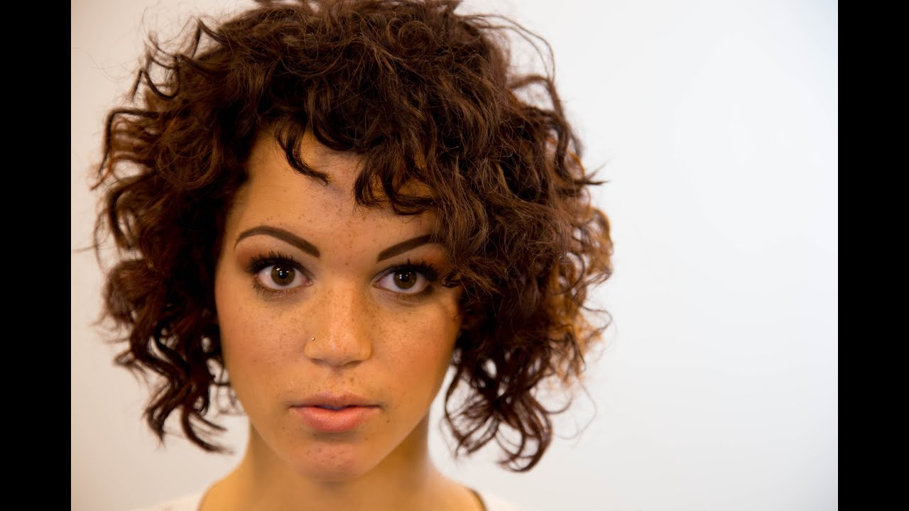 A Line Bob Haircut On Curly Hair – On The Road Education – Paul Within Stacked Curly Bob Hairstyles (View 21 of 25)