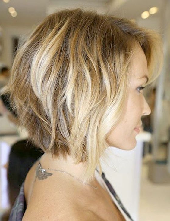 A Line Bob Haircuts For Round Faces – Google Zoeken … | Tresses Pertaining To Angled Bob Hairstyles For Thick Tresses (Gallery 8 of 25)