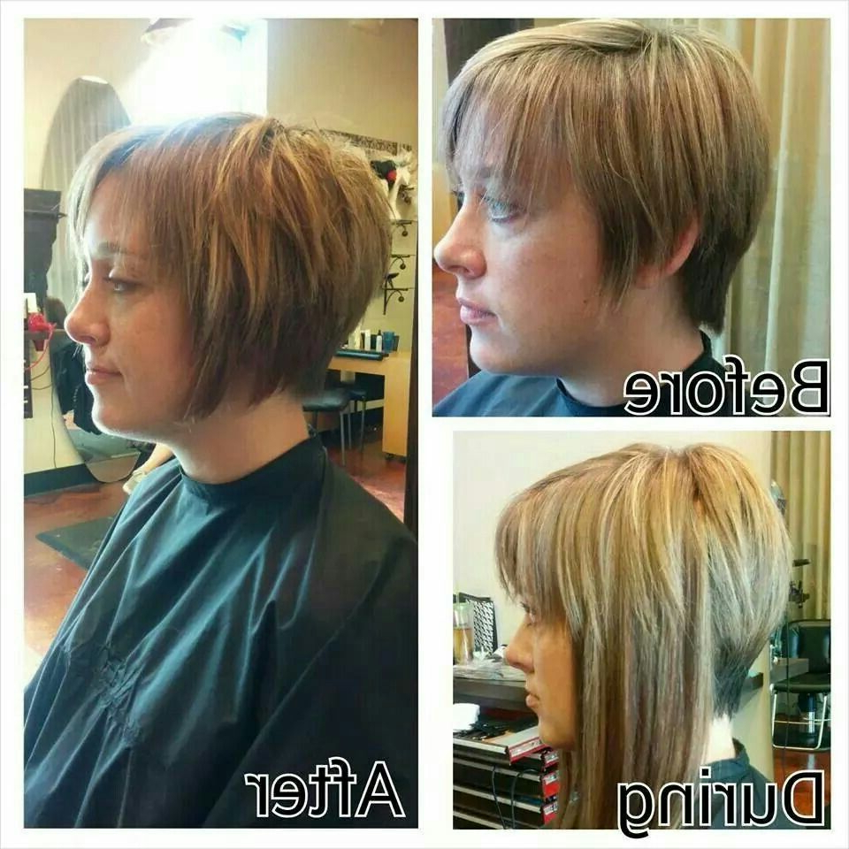 Added Extensions To Help Grow Out Pixie Cut | Hairs N Cuts In 2018 Pertaining To Short Hairstyles For Growing Out A Pixie Cut (Gallery 17 of 25)