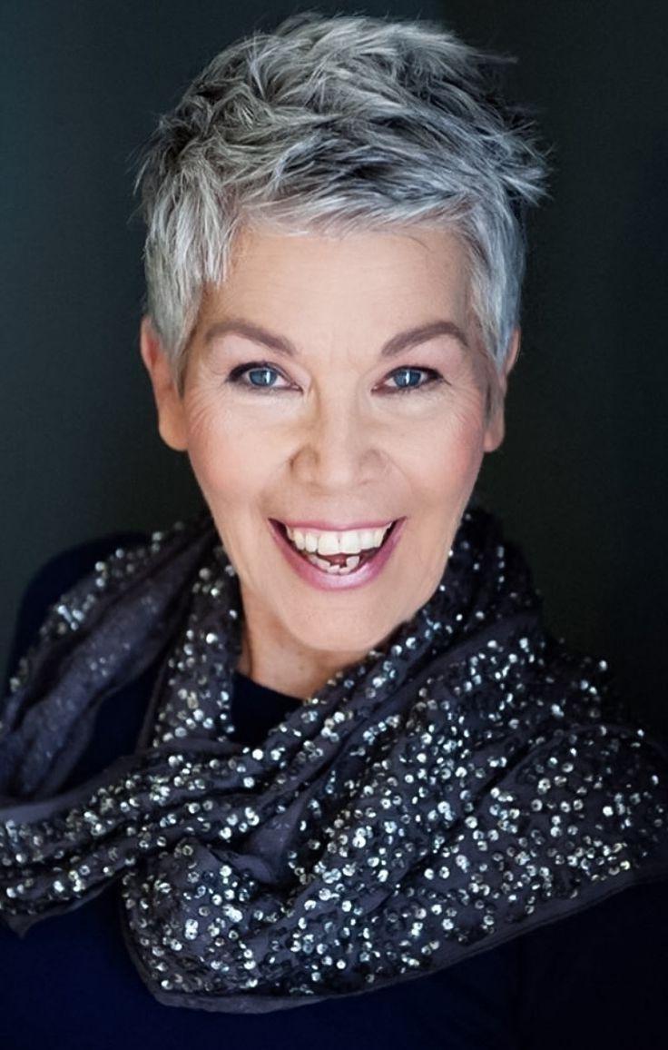 Afbeeldingsresultaten Voor Short Hair Styles For Women Over 50 Gray Regarding Short Haircuts For Women With Grey Hair (Gallery 4 of 25)