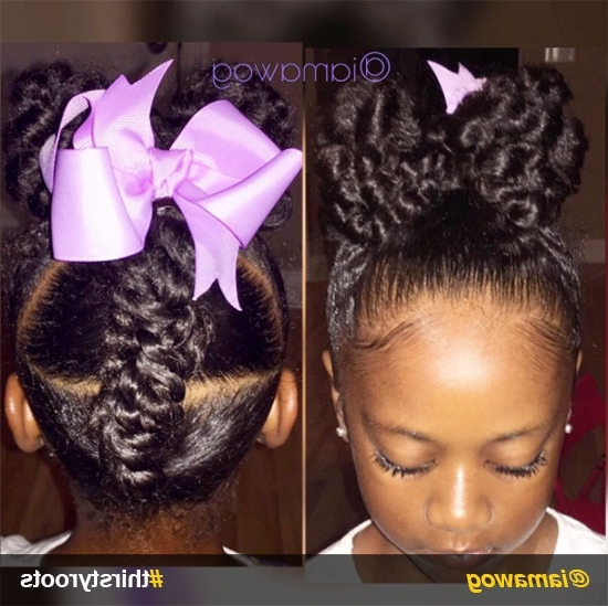 African American Little Girl Natural Hairstyles (View 8 of 25)