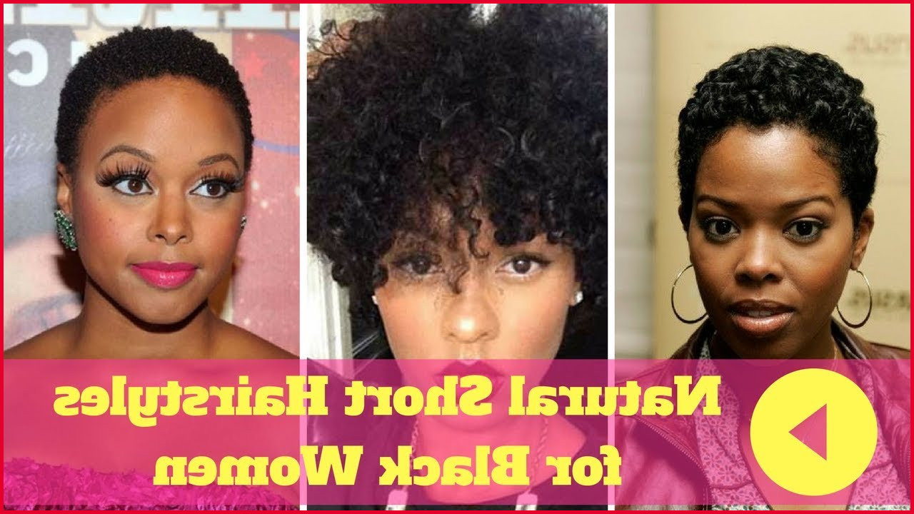 African American Natural Short Haircuts 307346 2018 Natural Short In Natural Short Haircuts For Black Women (View 24 of 25)