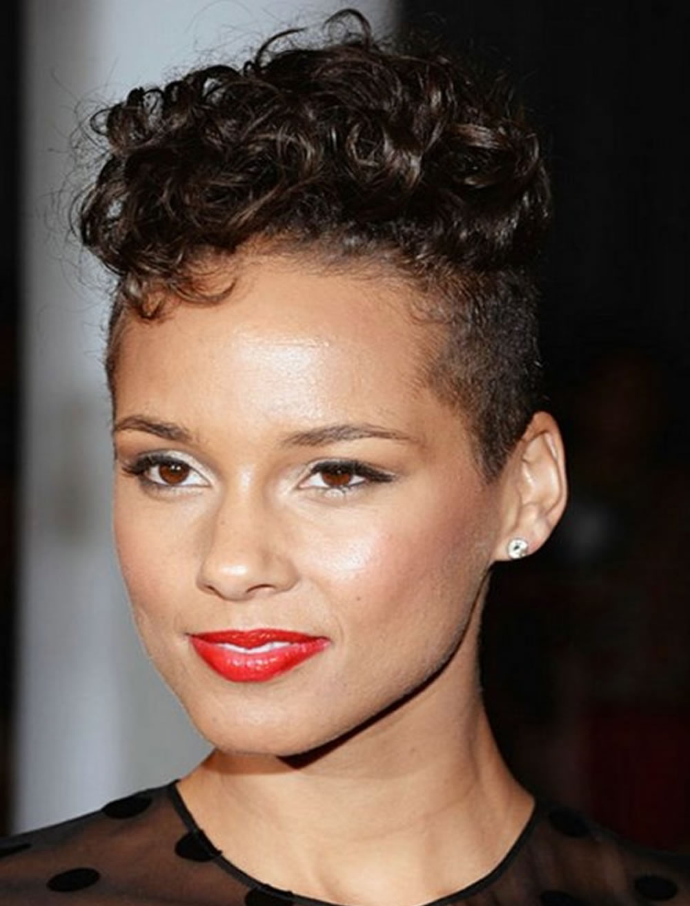 African American Short Hairstyles – Best 23 Haircuts Black Hair Pertaining To Short Haircuts For Kinky Hair (View 10 of 25)