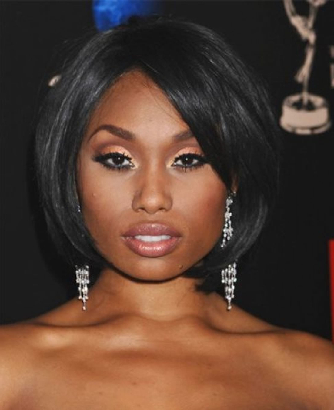 African American Short Hairstyles For Round Faces » Best Easy Hairstyles Regarding Short Hairstyles For Round Faces African American (View 3 of 25)