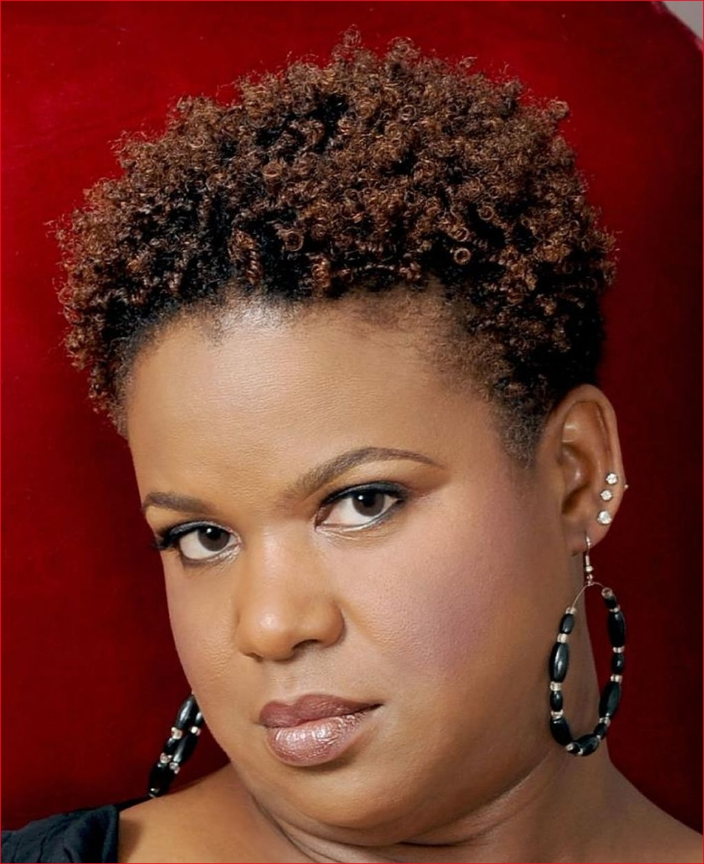 African American Short Hairstyles For Round Faces » Best Easy Hairstyles With Short Haircuts For Round Faces Black Hair (View 14 of 25)