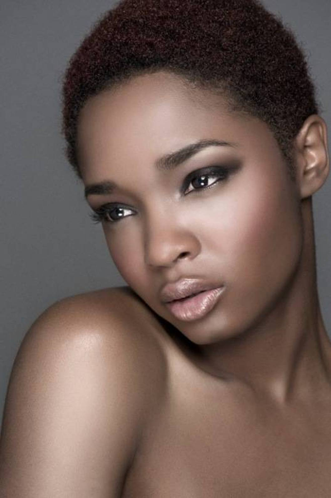 African American Short Natural Hairstyles 2013 Lovely Awesome Short Within Short Haircuts For Black Women With Oval Faces (Gallery 1 of 25)