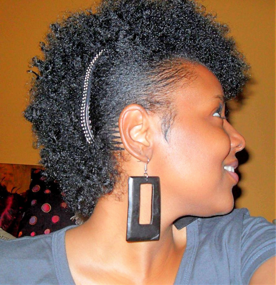 African American Short Natural Hairstyles For Round Faces 2018 Inside Natural Short Hairstyles For Round Faces (Gallery 22 of 25)
