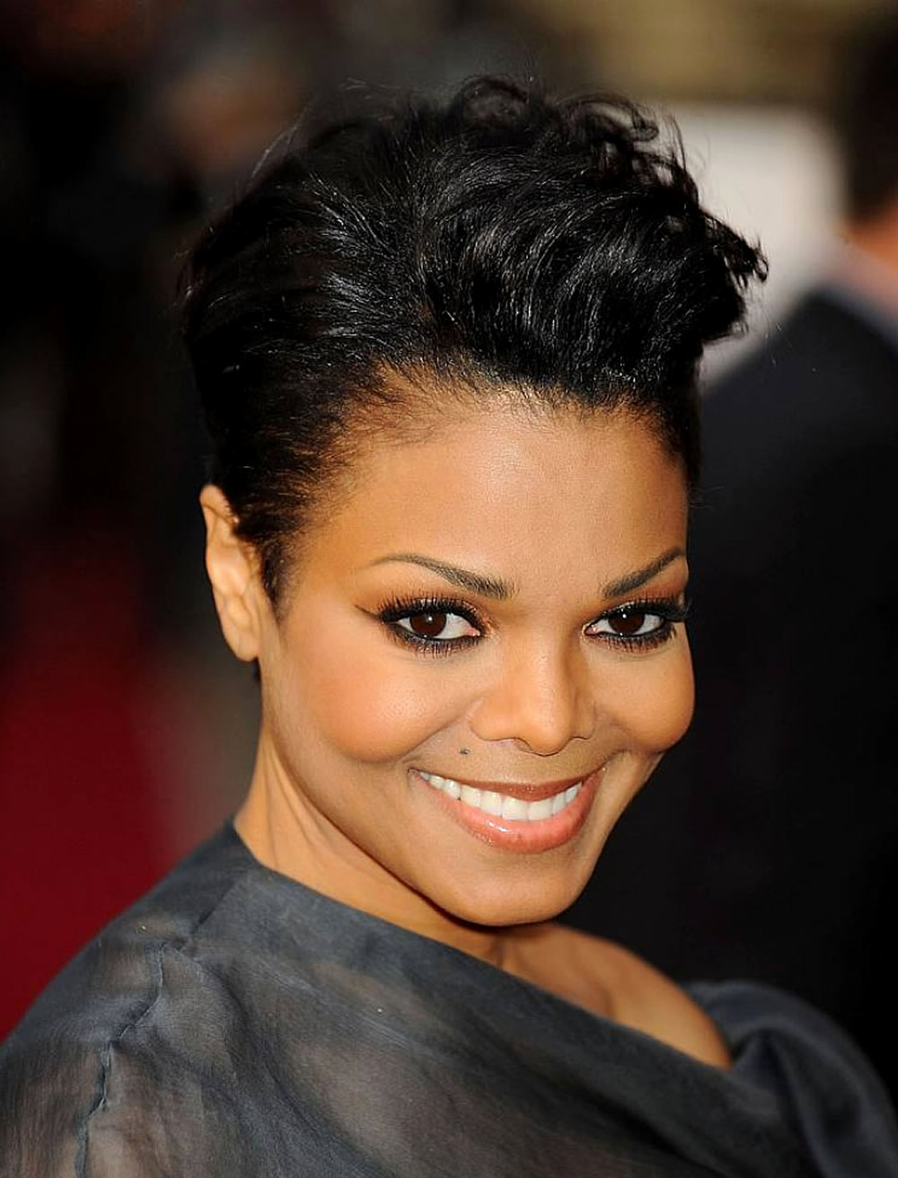 African American Short Natural Hairstyles For Round Faces African For Short Haircuts For Round Faces Black Women (View 24 of 25)