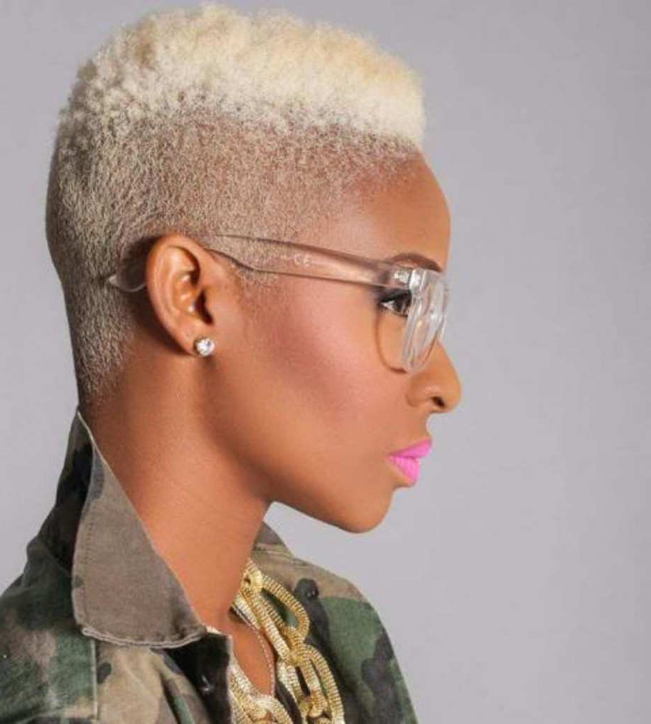 African American With Natural Blonde Hair Lovely Natural African For Short Haircuts For Natural African American Hair (View 20 of 25)