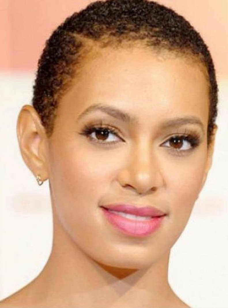 African Short Hairstyles For Round Faces Short Haircuts For Black With Regard To Black Short Haircuts For Round Faces (View 14 of 25)