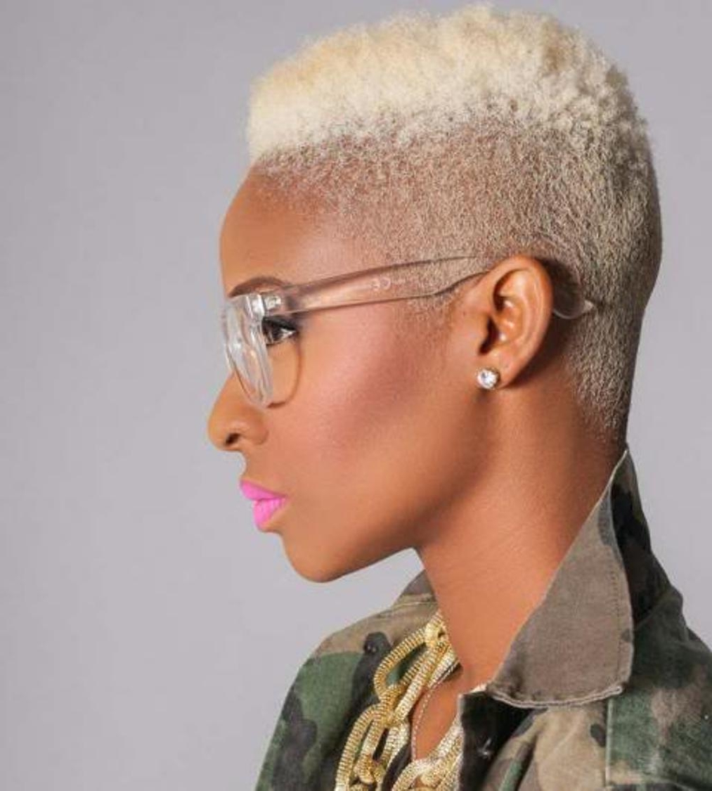 African Short Hairstyles – Leymatson For Afro Short Haircuts (View 14 of 25)
