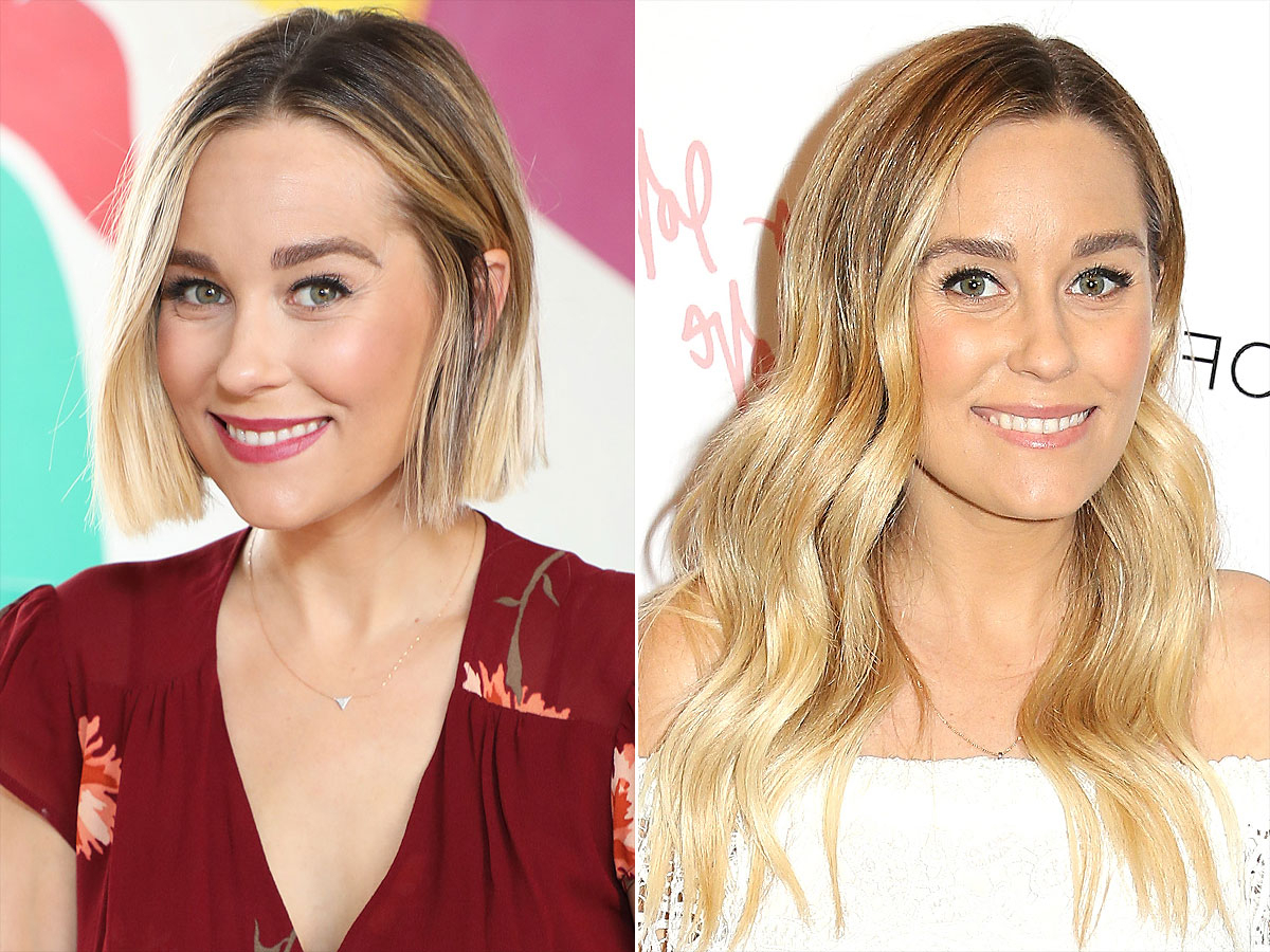 All About Lauren Conrad's Hair Evolution | People For Lauren Conrad Short Hairstyles (Gallery 1 of 25)