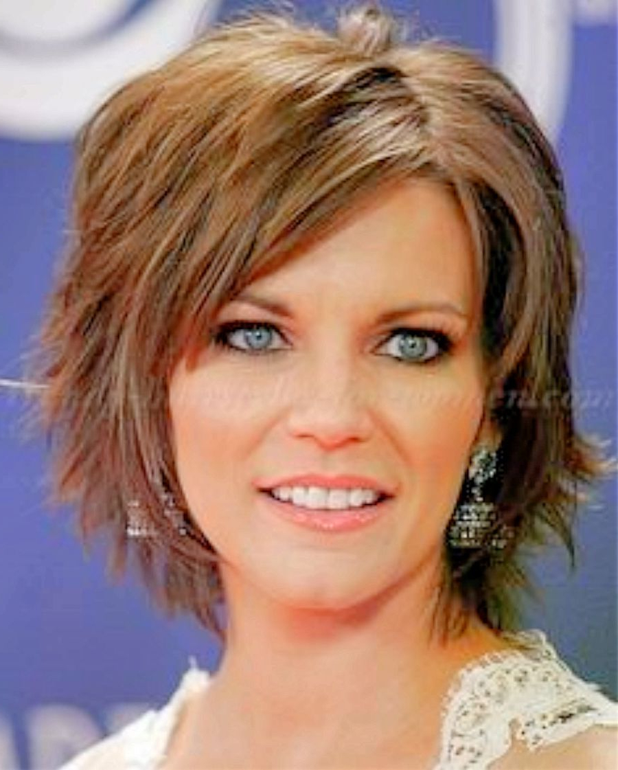 Amazing Hairstyles Women Over 50 Hairstyles Women Over 50 Fine Within Short Layered Hairstyles For Fine Hair Over 50 (Gallery 5 of 25)