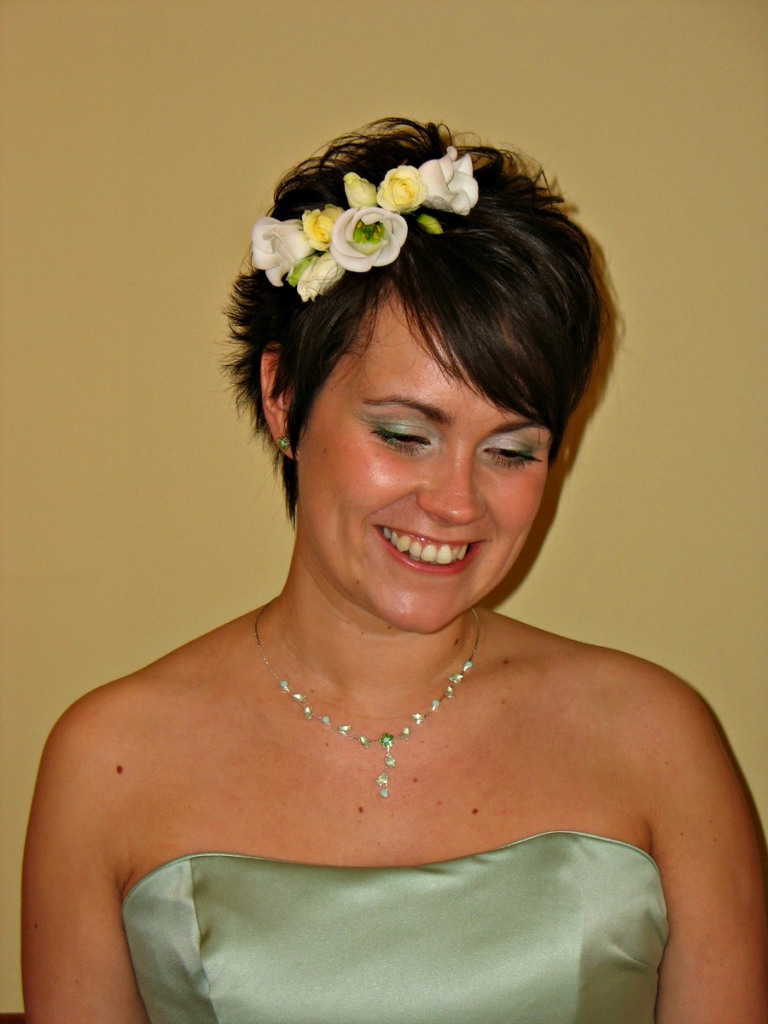 Amelia Garwood – Wedding Hair & Make Up Artist Norwich Short Hair With Short Hairstyles For Weddings For Bridesmaids (View 7 of 25)