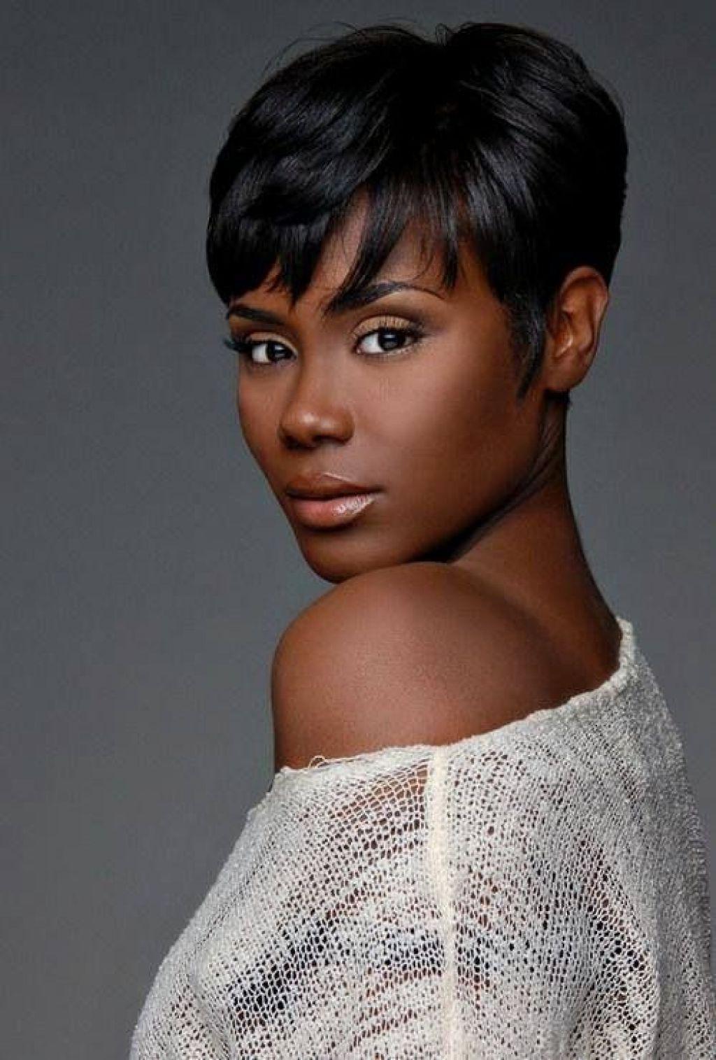 Amusing Short Haircuts Along With Afro American Women Black Women With Regard To Short Hairstyles For African American Women With Thin Hair (Gallery 14 of 25)