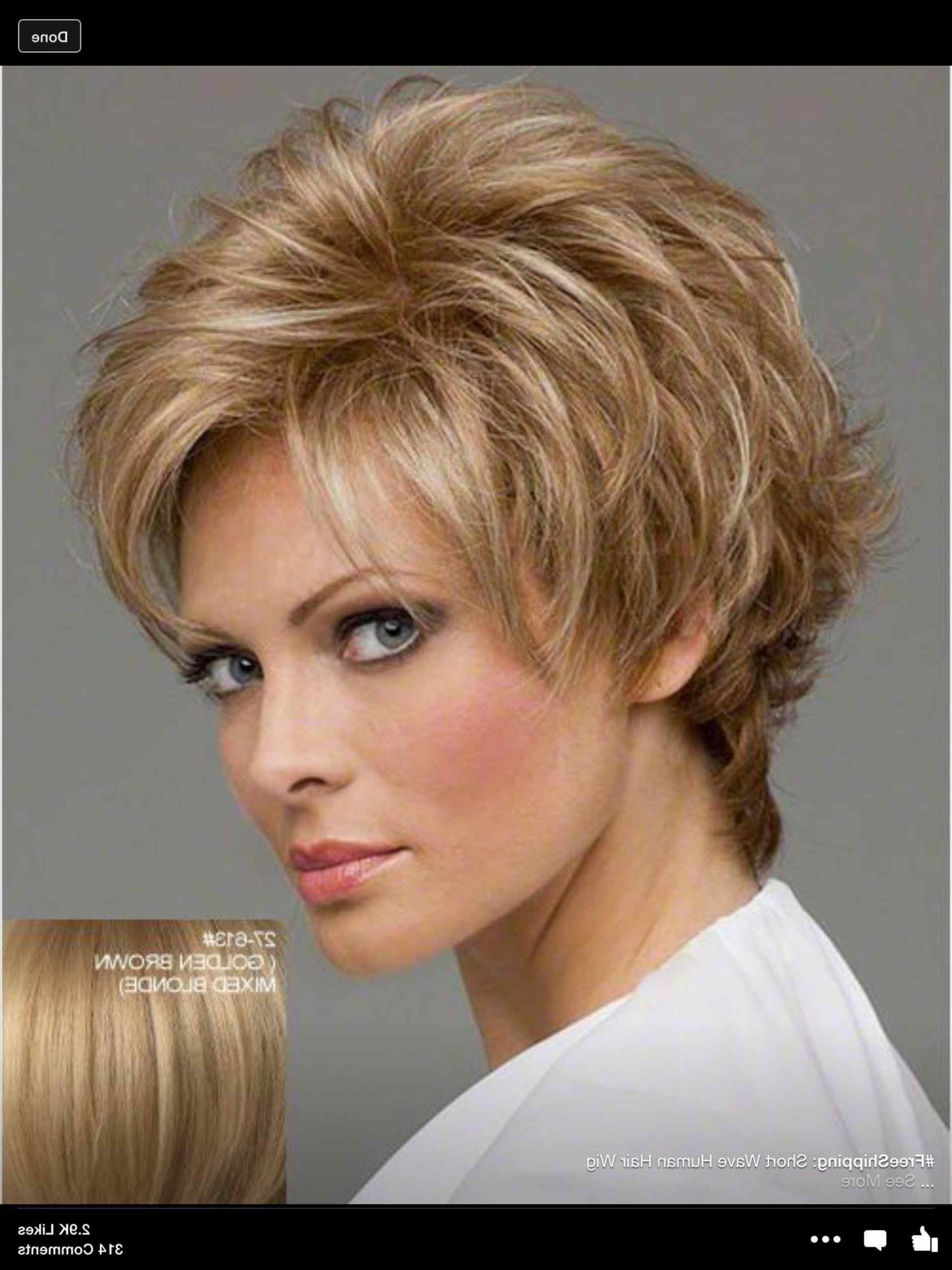 And Round Faces Beautiful Short Hairstyles For Fine Hair With Short Hairstyles For Thin Fine Hair And Round Face (Gallery 25 of 25)