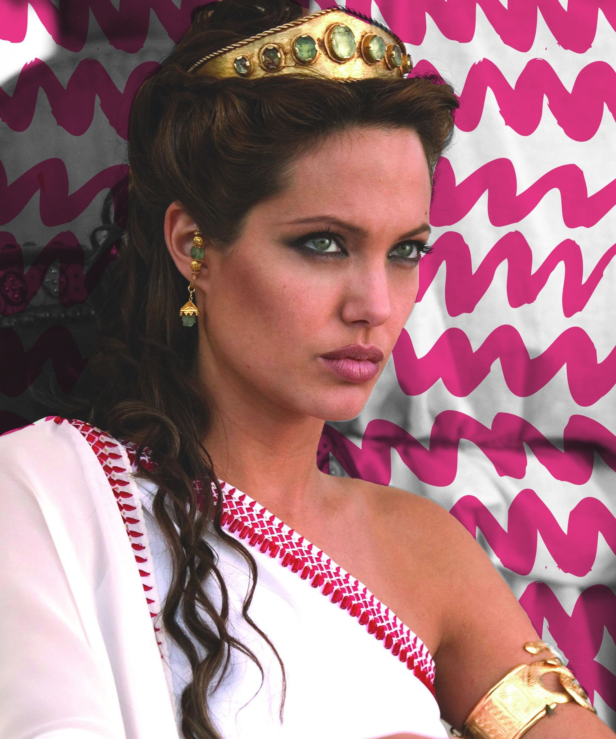 Angelina Jolie Best Worst Movie Hairstyles Intended For Angelina Jolie Short Hairstyles (Gallery 16 of 25)