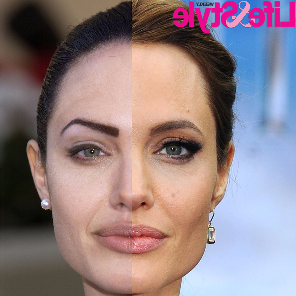 Angelina Jolie Is A Plastic Surgery Before And After – Page 115 Within Angelina Jolie Short Hairstyles (View 12 of 25)