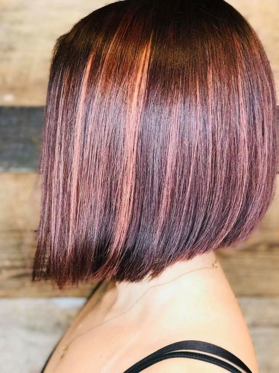 Angled Modern Bob – A Great Short Hairstyle Idea – Triniti Salon Pertaining To Short Bob Hairstyles With Dimensional Coloring (Gallery 23 of 25)