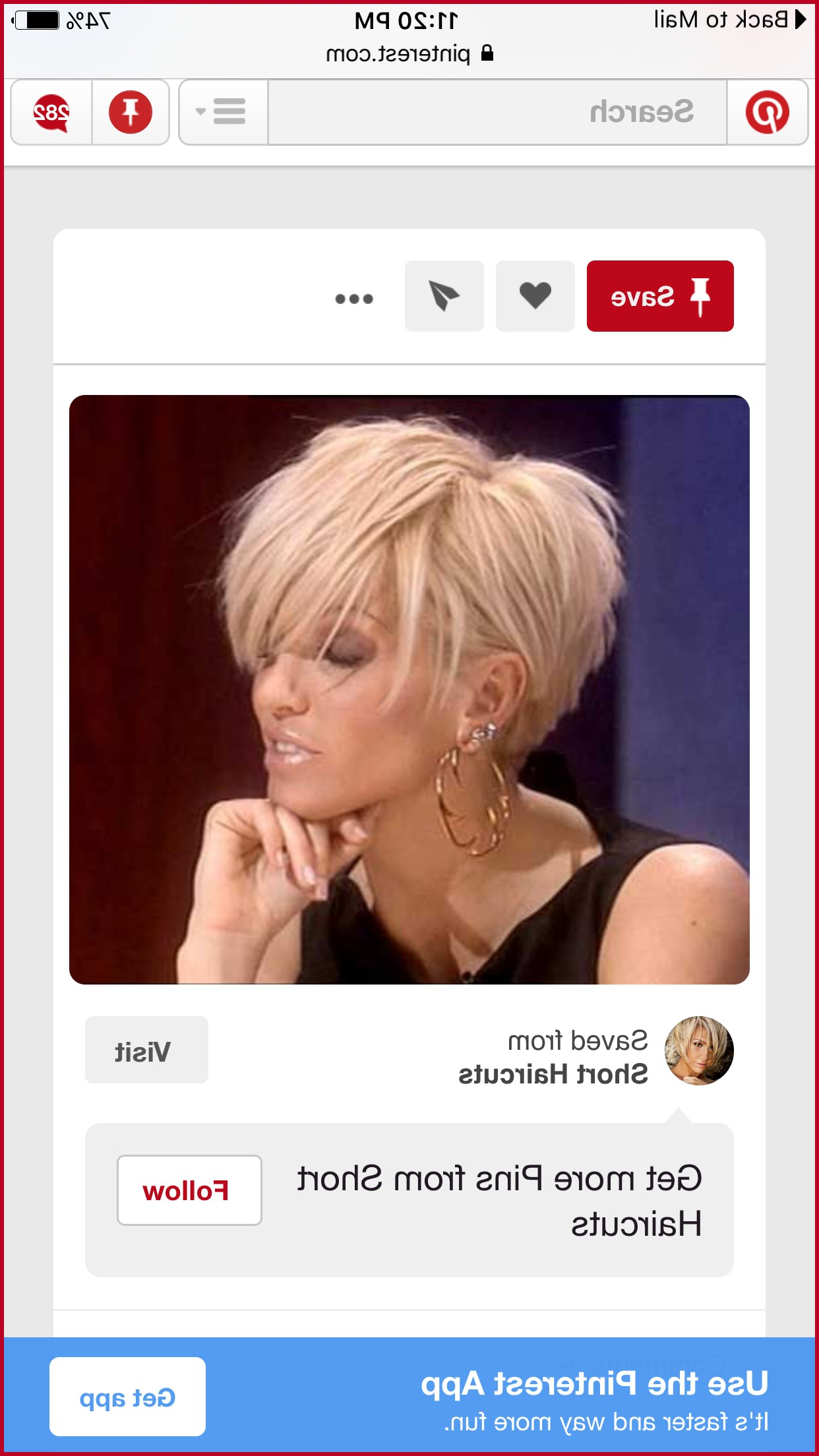App To See What Hairstyle Looks Good On You 360735 15 Short In Short Haircuts That Make You Look Younger (View 21 of 25)