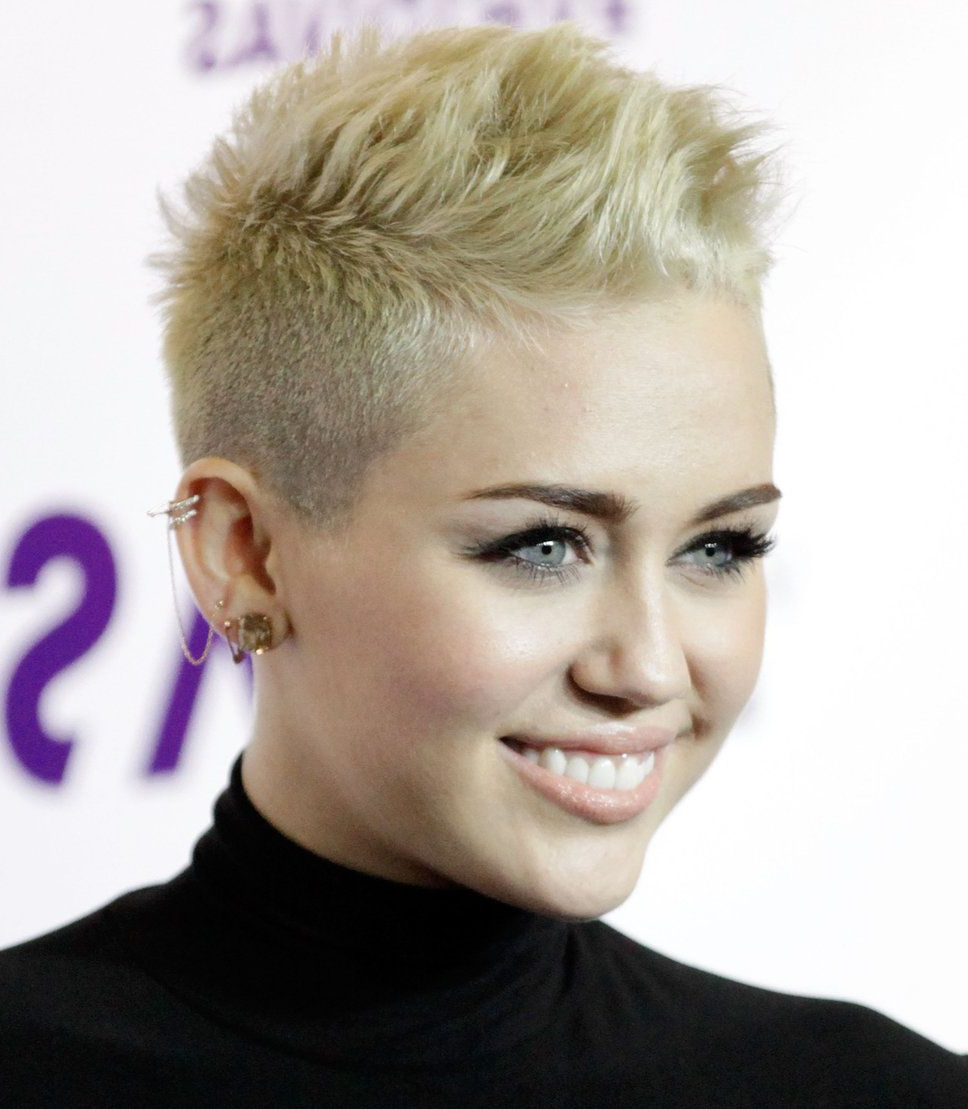 Are You Brave Enough To Go For A Pixie Cut Like Miley Cyrus Intended For Short Haircuts Like Miley Cyrus (Gallery 3 of 25)