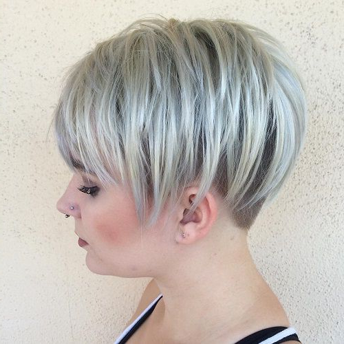 Ash Blonde Undercut Pixie | Hare | Pinterest | Hair Cuts, Hair And With Ash Blonde Undercut Pixie Haircuts (Gallery 1 of 25)