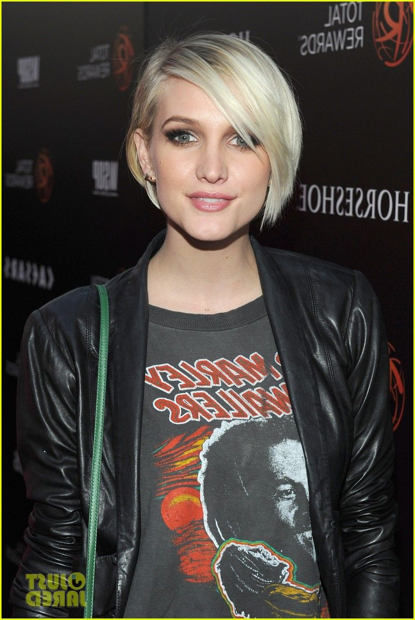 Ashlee Simpson's Hair Looks Precious Like This. Makes Me Want To With Ashlee Simpson Short Haircuts (Gallery 9 of 25)
