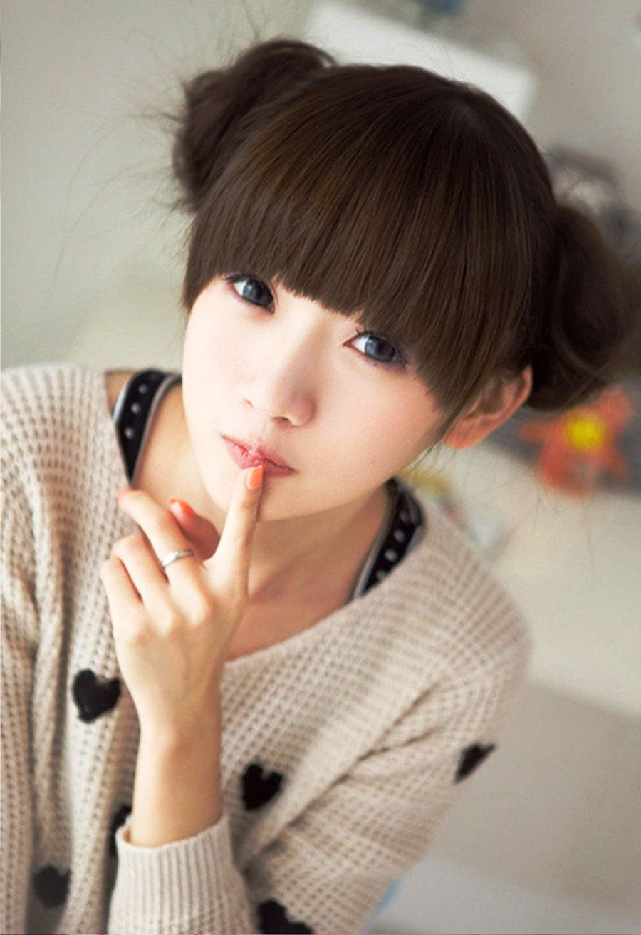 Asian Hairstyle – Pesquisa Google   Cortes De Cabelo   Pinterest Throughout Asian Girl Short Hairstyle (Gallery 20 of 25)