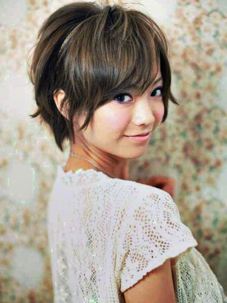 Asian Round Face Hairstyles – Hairstyle For Women Inspirations With Regard To Short Hairstyles For Asian Round Face (View 19 of 25)