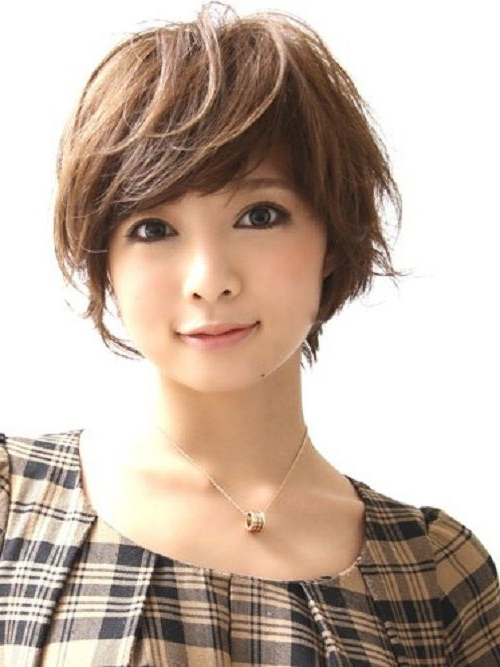 Asian Short Hairstyles For Women Short Bob Cut With Edgy Flicks Intended For Short Hairstyles With Flicks (Gallery 7 of 25)