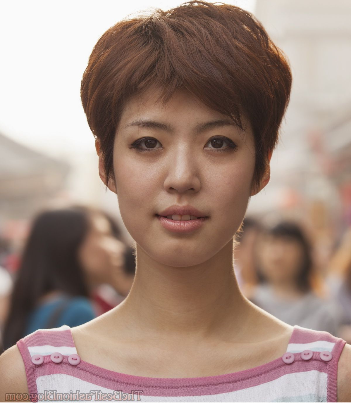 Asian Women Hairstyles 2018 Regarding Short Hairstyle For Asian Girl (Gallery 5 of 25)