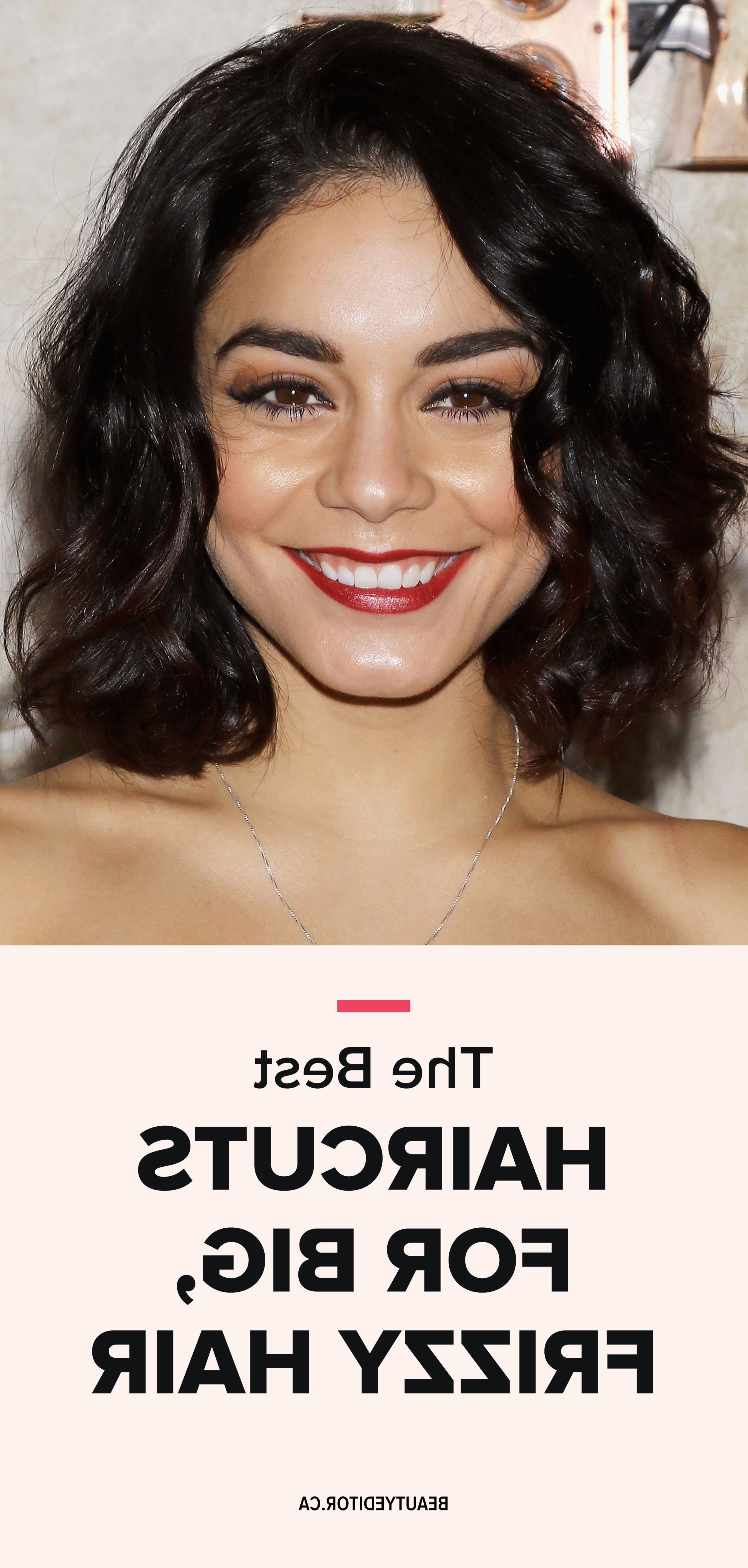 Ask A Hairstylist: The Best Haircuts For Big, Frizzy Hair | For The With Short Hairstyles For Big Cheeks (Gallery 19 of 25)