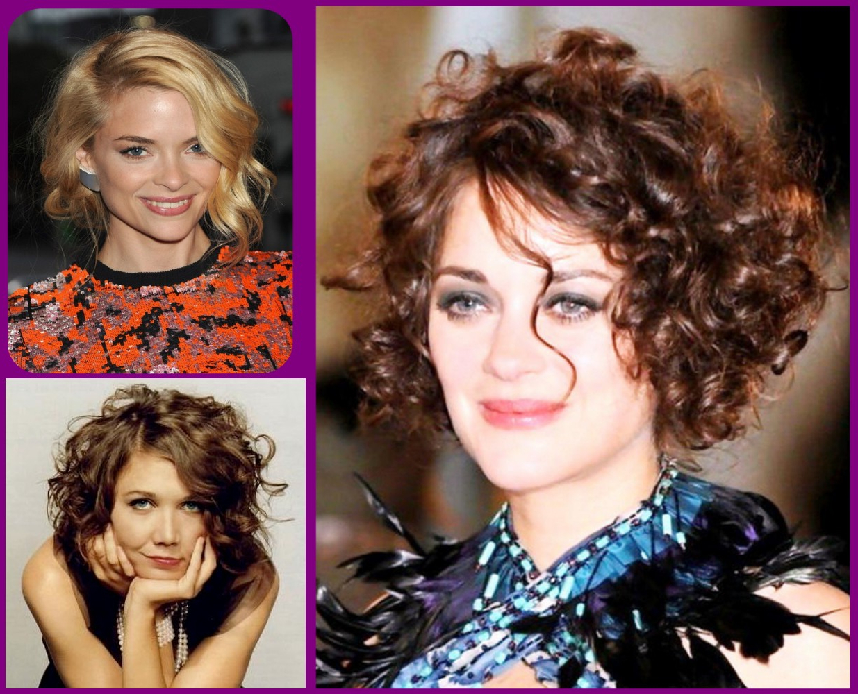 Asymmetric Bob Short Haircut For Wavy Hair Round Face – Hairstyles With Regard To Short Haircuts For Curly Hair And Round Face (Gallery 20 of 25)