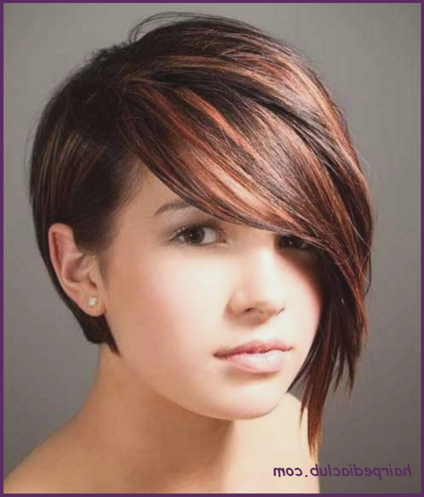Asymmetric Bob Short Haircuts For Fine Hair And Round Faces Throughout Short Hairstyles For Round Faces And Thin Fine Hair (Gallery 24 of 25)