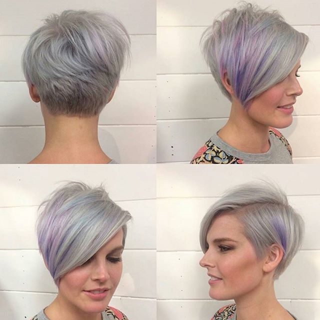 Asymmetric Haircuts For Thick Hair – Short And Cuts Hairstyles Inside Asymmetrical Haircuts For Thick Hair (Gallery 10 of 25)
