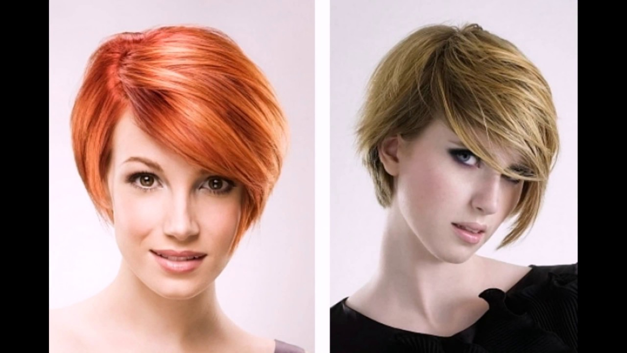 Asymmetric Hairstyles For Short Hair, Hairtrends 2018 Winter – Youtube With Asymmetric Short Haircuts (Gallery 19 of 25)