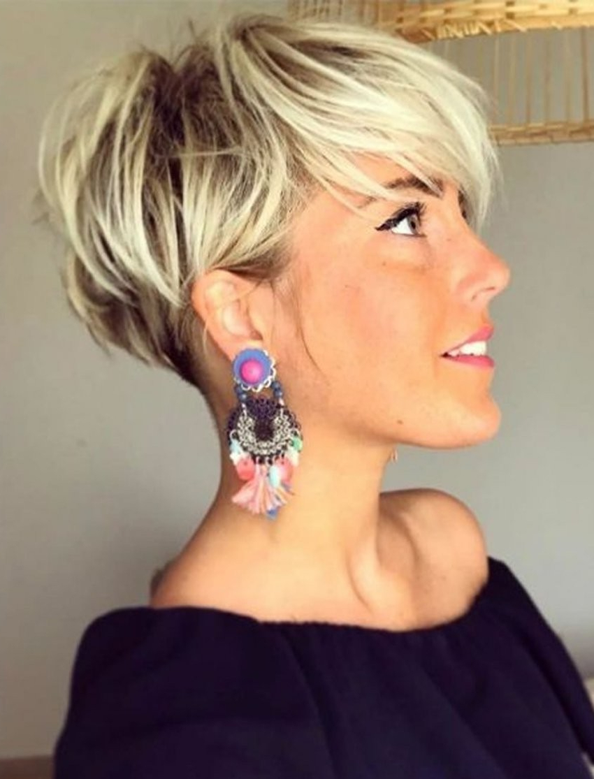 Asymmetrical Curly Short Haircuts – Google Search | Hair .. – Latest In Asymmetrical Short Haircuts For Women (Gallery 25 of 25)