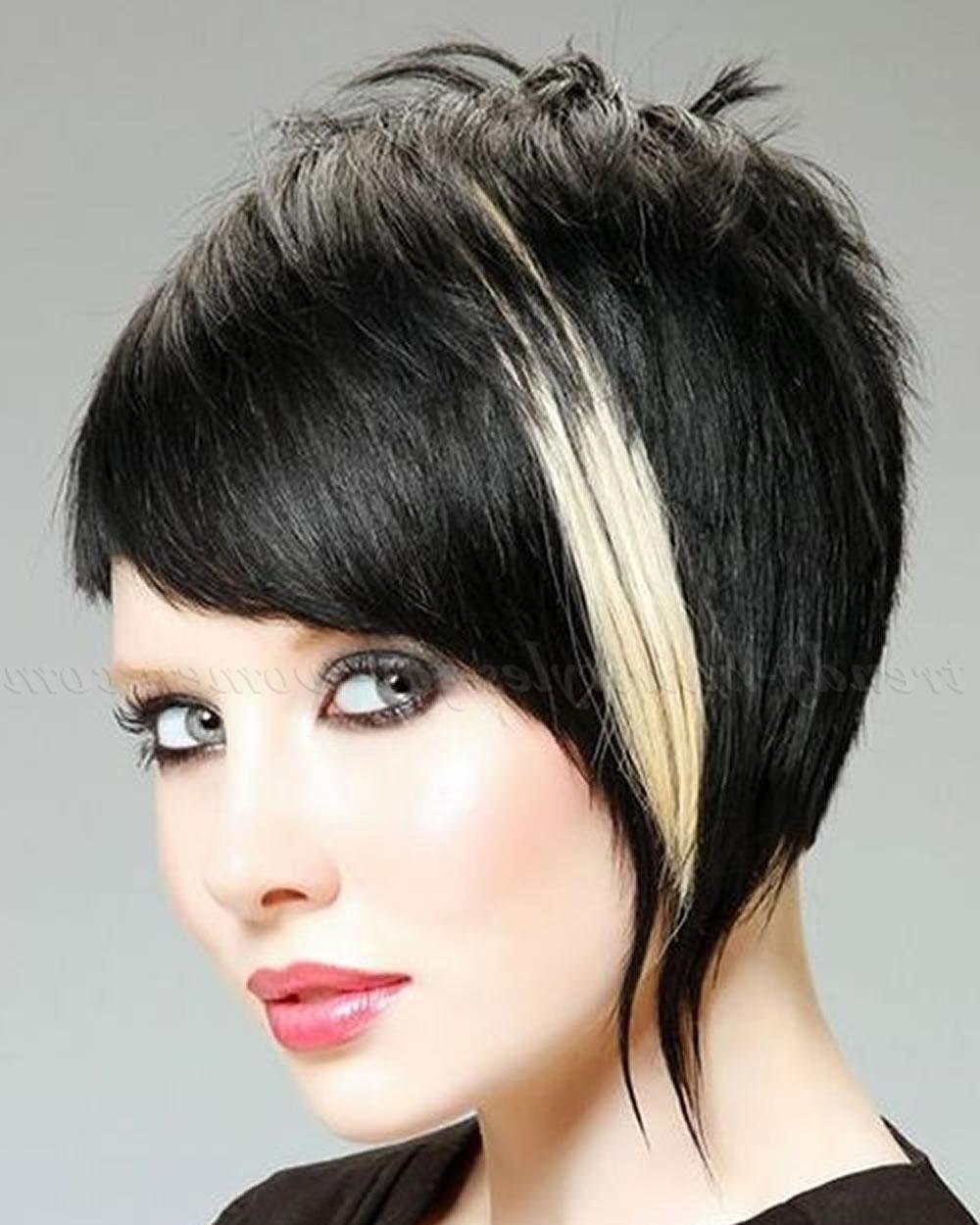 Asymmetrical Short Hair 2018 – 33 Haute Short Hairstyles & Haircuts Inside Asymmetrical Short Hairstyles (Gallery 5 of 25)