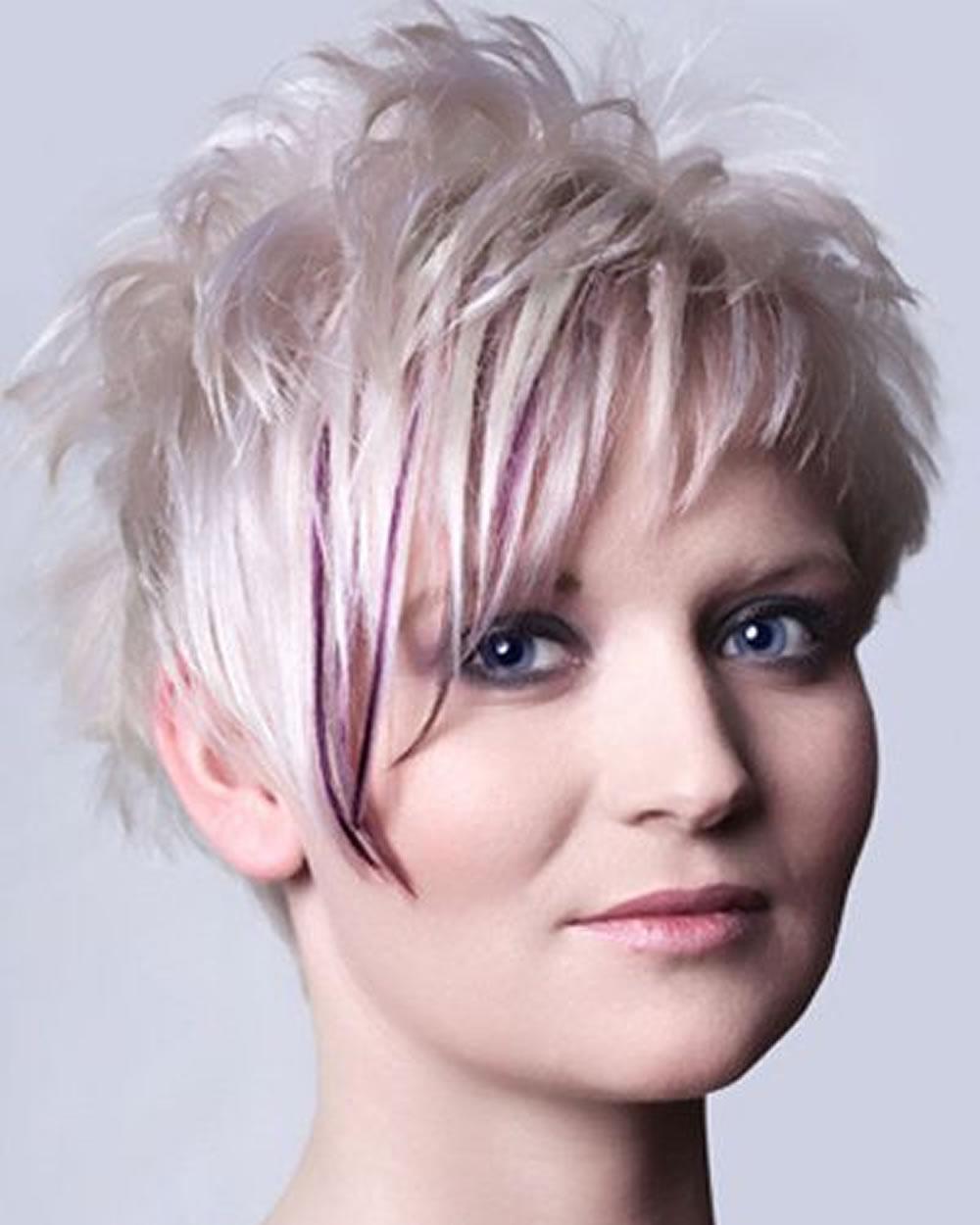 Asymmetrical Short Hair 2018 – 33 Haute Short Hairstyles & Haircuts Throughout Asymmetrical Short Haircuts For Women (Gallery 21 of 25)