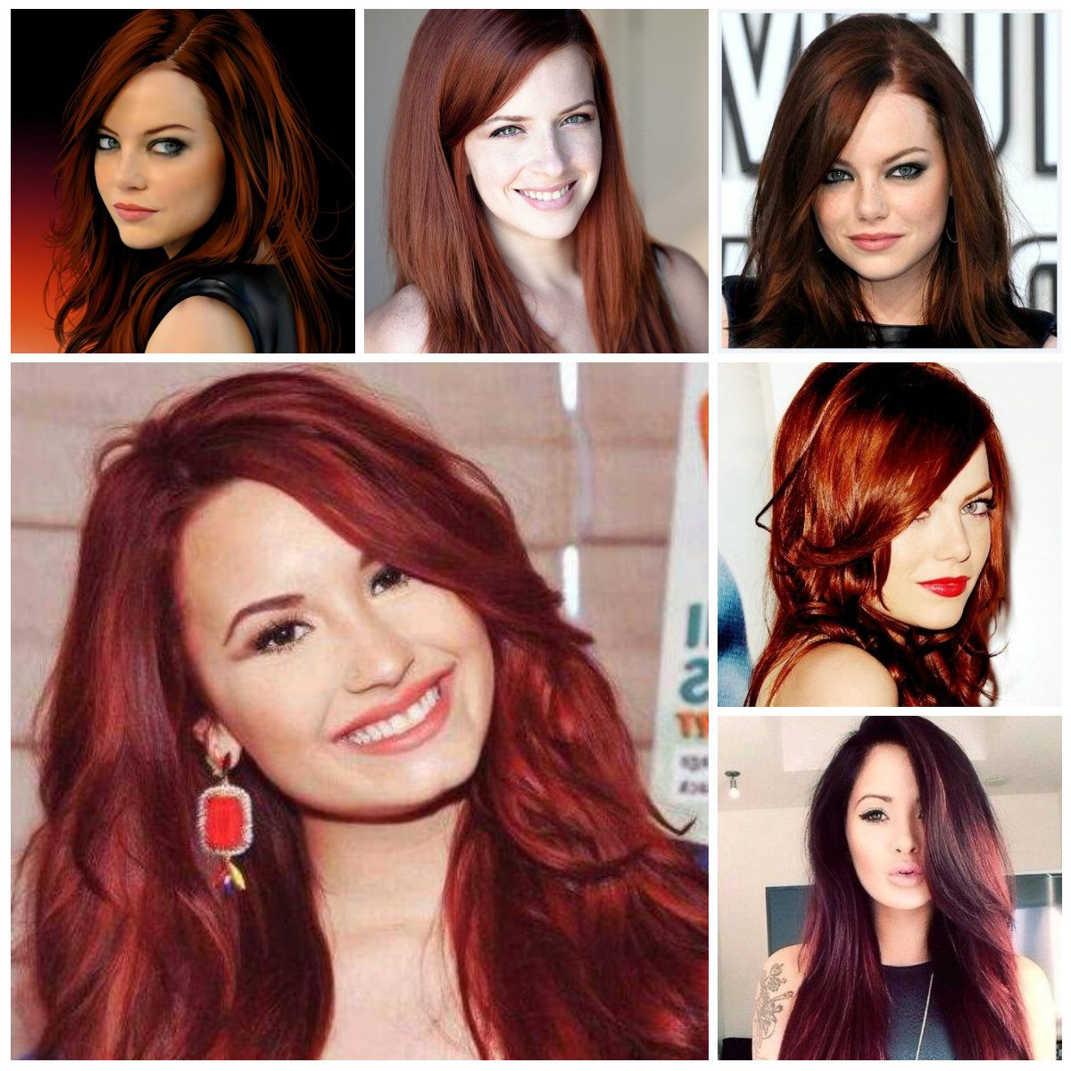 Auburn Hair Colors For 2019 – Trendy Hairstyles 2019 For Long With Regard To Auburn Short Hairstyles (Gallery 18 of 25)