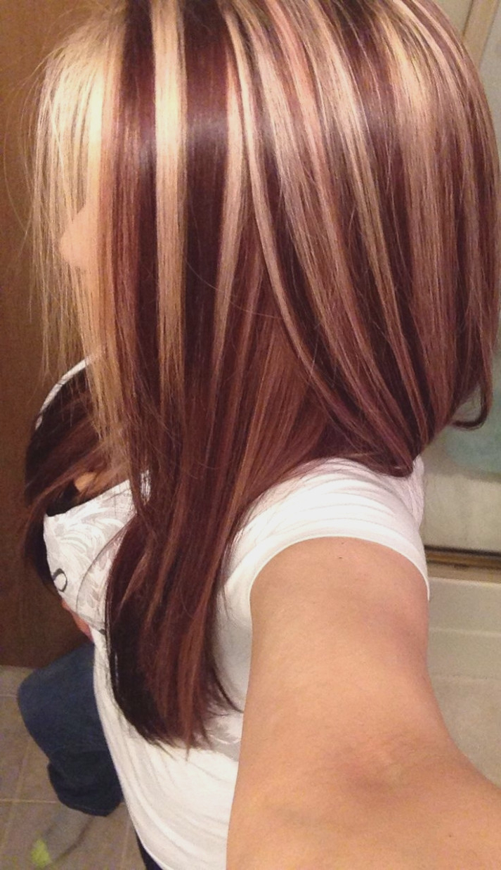 Auburn Hair With Red Highlights – 30 Hair Highlights – Short Red In Auburn Short Haircuts (Gallery 19 of 25)