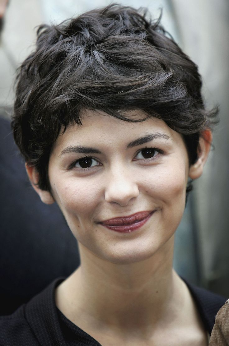 Audrey Tautou – Google Search | Contrasted Structure | Pinterest With Regard To Audrey Tautou Short Haircuts (View 6 of 25)