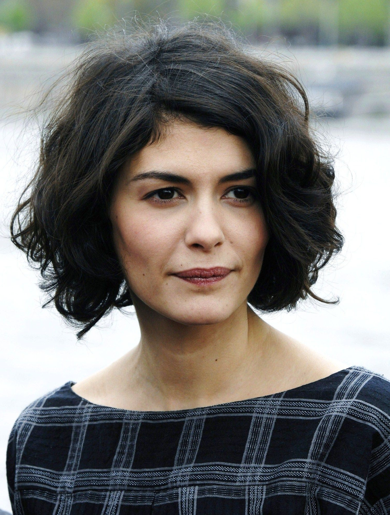 Audrey Tautou Short Hairstyles Luxury Nice Short And Curly Hairstyle With Regard To Audrey Tautou Short Haircuts (Gallery 13 of 25)