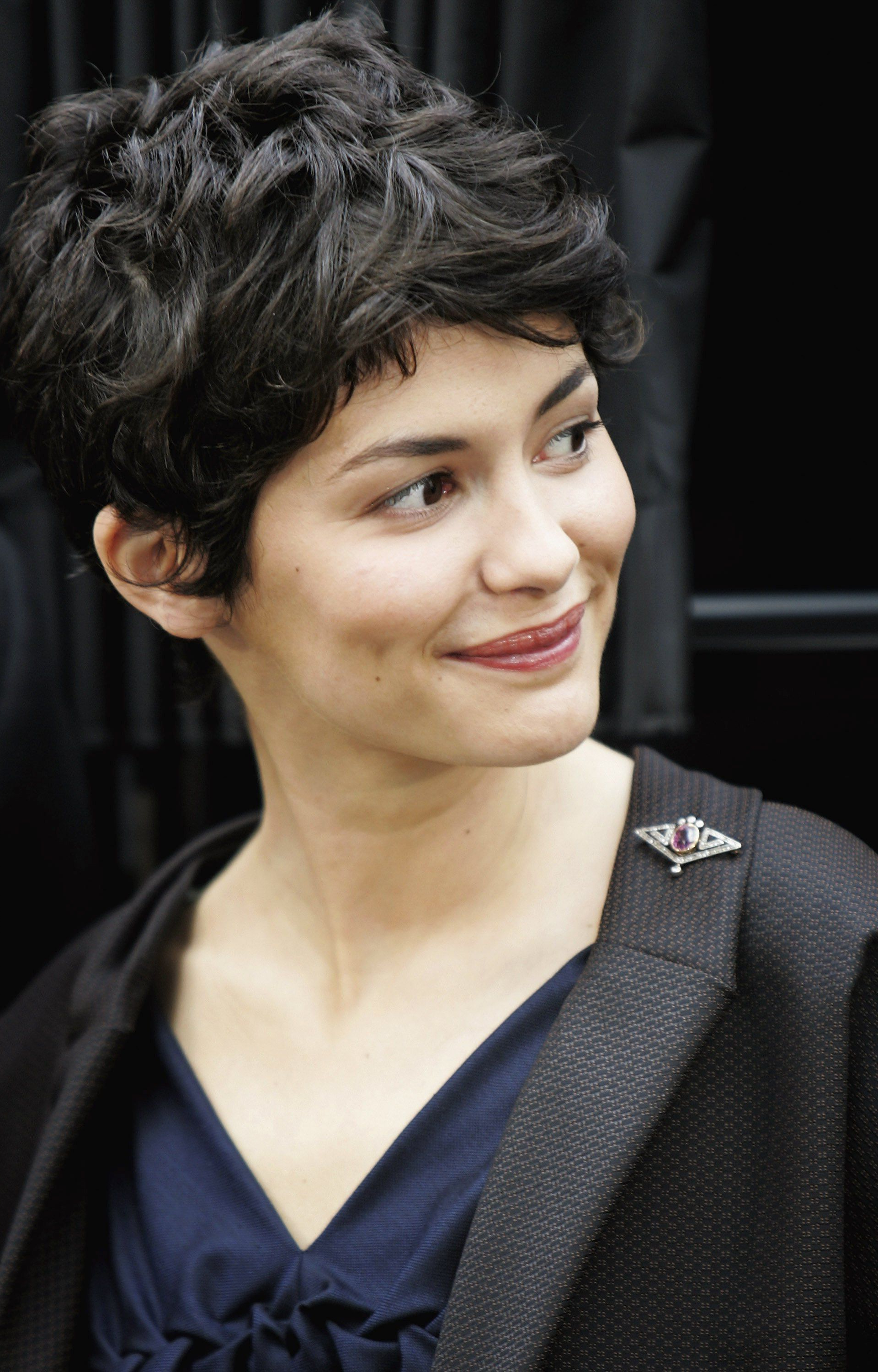 Audrey Tautou | Short Shorter Shortest In 2018 | Pinterest | Hair With Regard To Audrey Tautou Short Haircuts (Gallery 8 of 25)